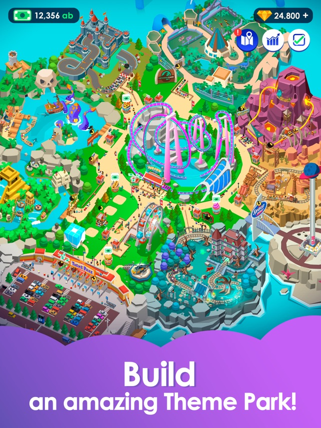 Idle Theme Park - Tycoon Game on the App Store