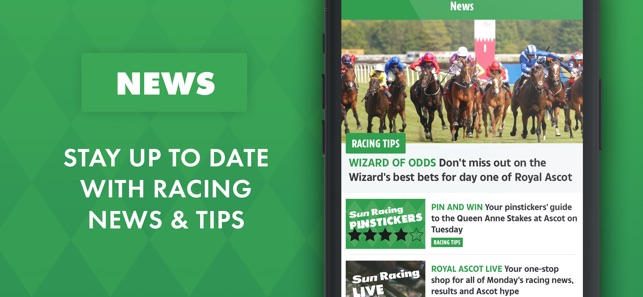 Sun Racing: Horse Racing News on the App Store