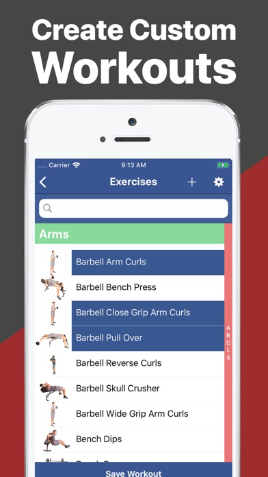 Screenshot Gymster+ Gym & Healthy Eating