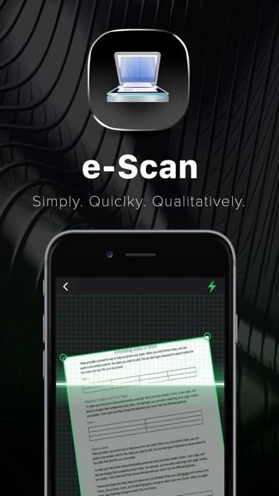 e-Scan: PDF Docs Scanner Appのおすすめ画像1