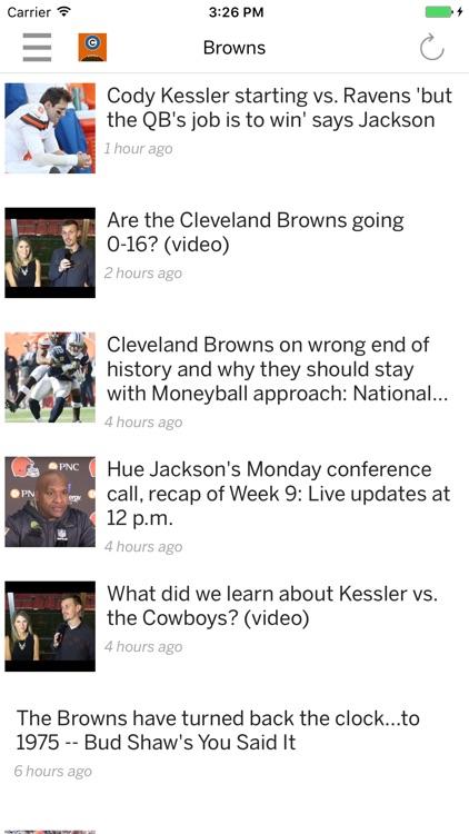 Browns News