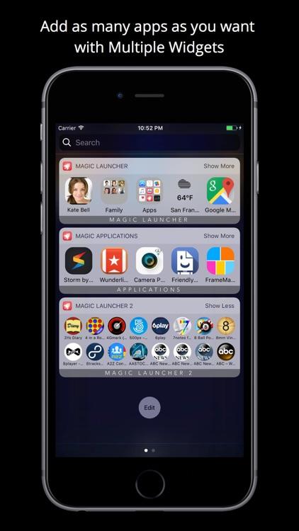 Magic Launcher Pro screenshot-2