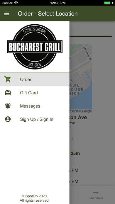 Bucharest Grill IncScreenshot of 1