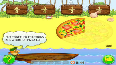 Fractions. Smart Pirates Screenshots