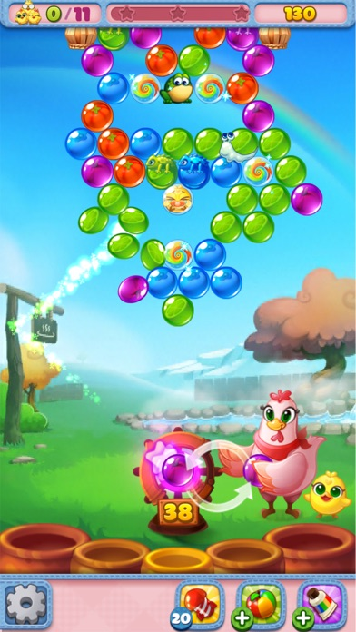 Bubble CoCo - Match 3 ShooterScreenshot von 4