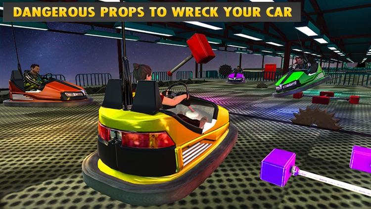 Crazy Bumper Cars Mania 3D screenshot-4