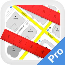 Ícone do app Planimeter Pro for map measure