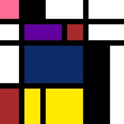 De Stijl Coloring Art Factory