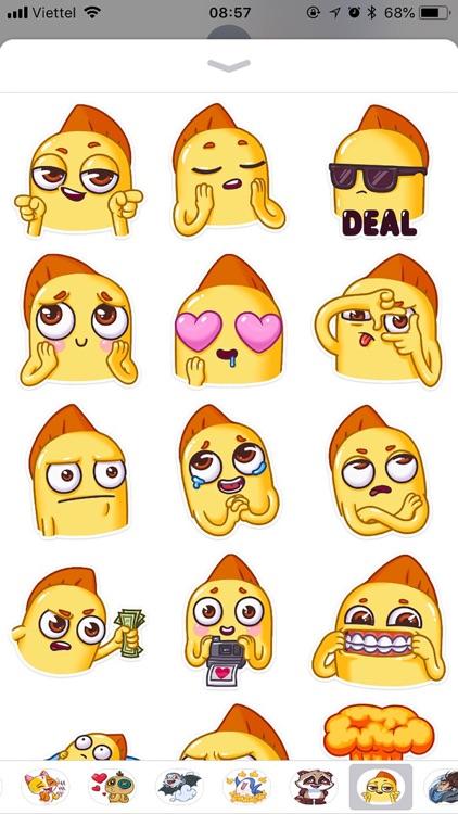 Snappy Emoji Funny Stickers