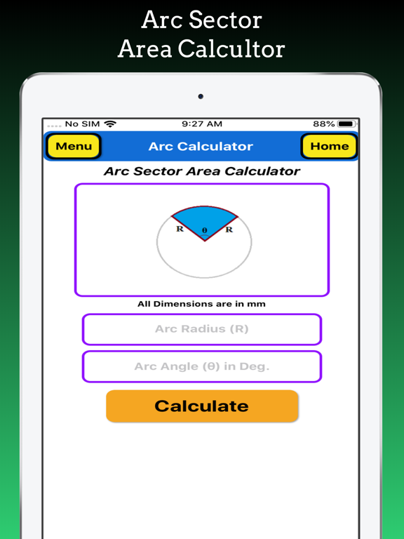 Arc Calculations screenshot 13