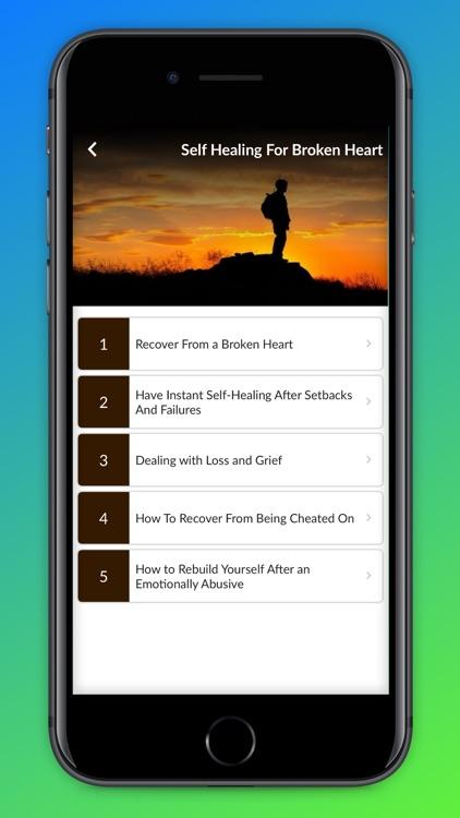 Self Healing Guide screenshot-4