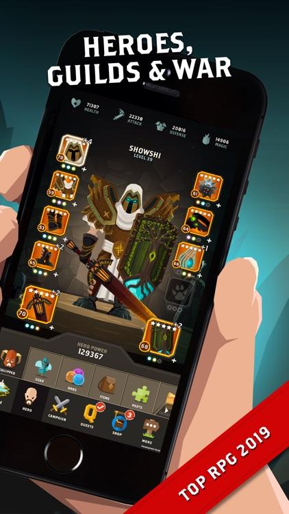 Questland: Hero Quest screenshot-0