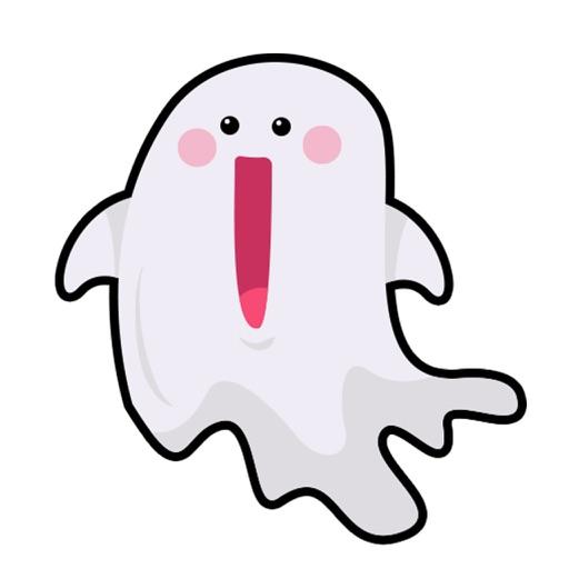 Cute Ghost Stickers Halloween