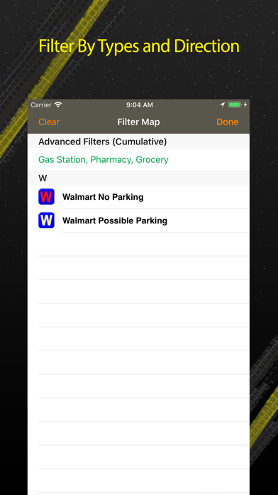 Walmart Overnight Parking review screenshots