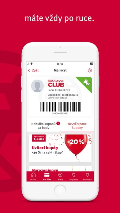 Screenshot for ROSSMANN CLUB in Chile App Store