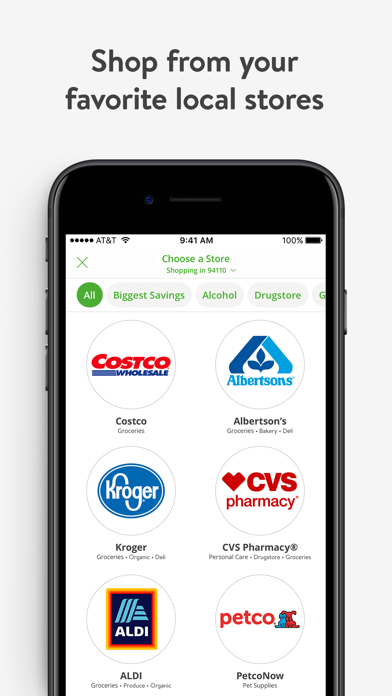Instacart by Maplebear Inc (iOS, United States) - SearchMan
