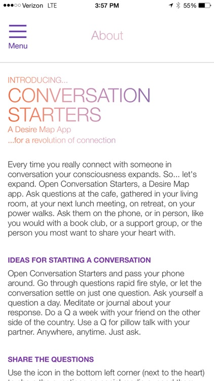 Conversation Starters, DLP screenshot-1