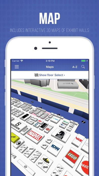 Official Comic-Con App screenshot four
