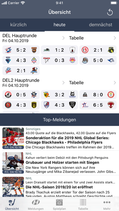 messages.download Hockeyweb - die Eishockey App software