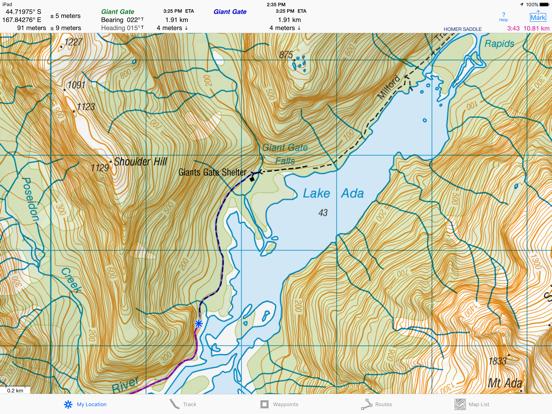 i Hike GPS NZ : Topo Maps | App Price Drops