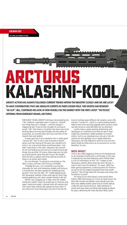 Airsoft Action Magazine
