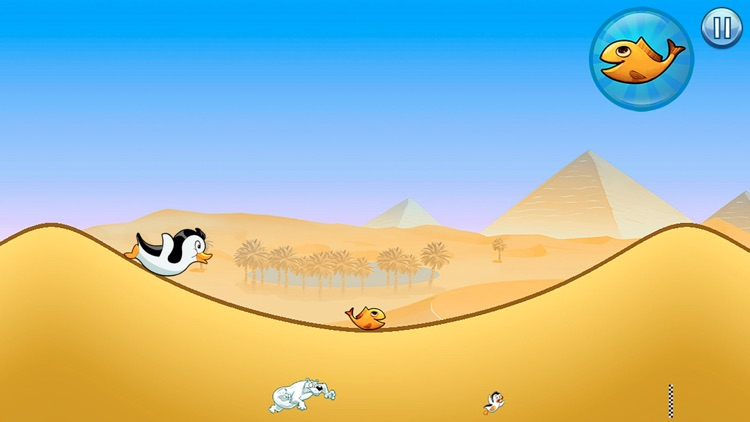 Racing Penguin: Slide and Fly! screenshot-0
