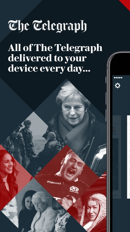 Telegraph Newspaper Edition UK