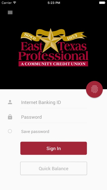East Texas Prof Credit Union