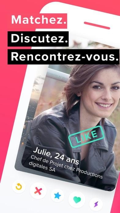 Screenshot for Tinder in France App Store
