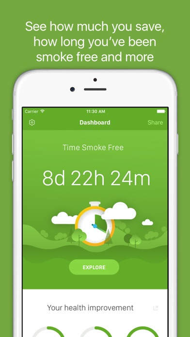 cancel Smoke Free - Quit Smoking Now app subscription image 1