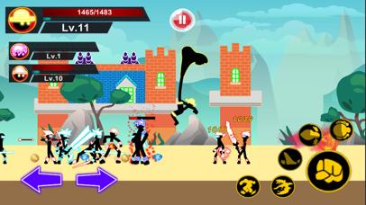 Stick Hero Pirate Fight Man screenshot 2