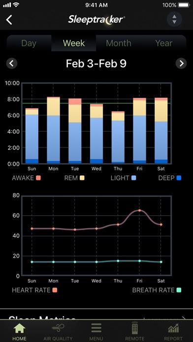 Tempur-Pedic® Sleeptracker® screenshot 3