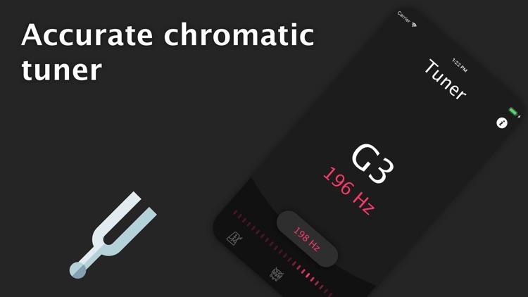 Metronome and Tuner - drum app screenshot-3