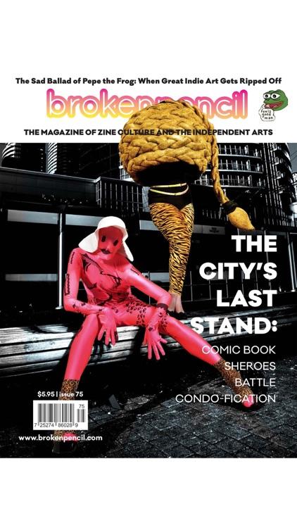 Broken Pencil Magazine screenshot-8
