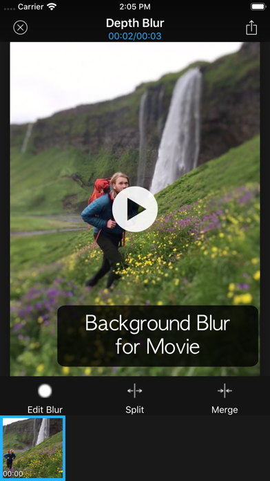 Depth Blur - Manual Portraitのおすすめ画像7