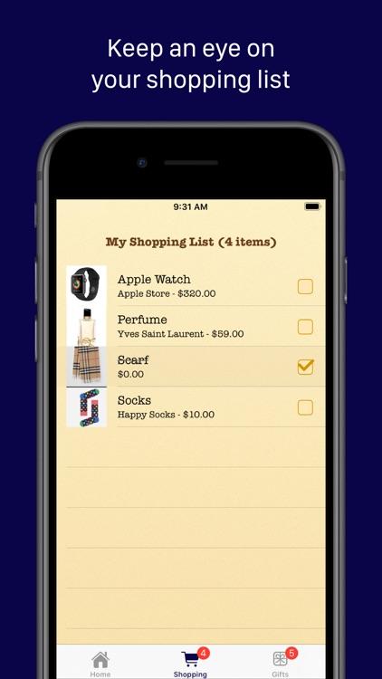 My Christmas Gift List screenshot-5