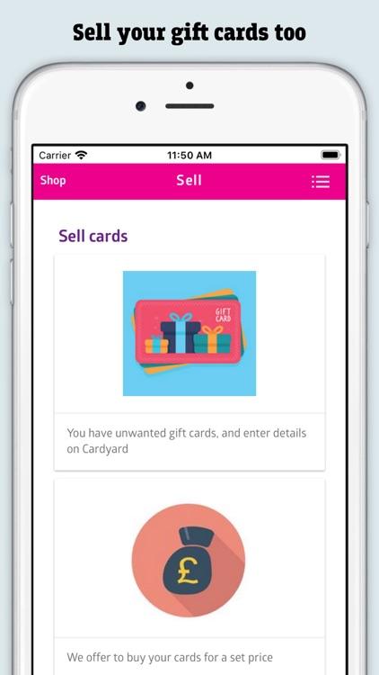 Cardyard - Gift Card Exchange screenshot-4