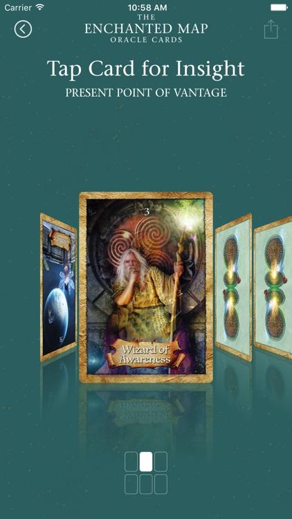 Enchanted Map Oracle Cards screenshot-3