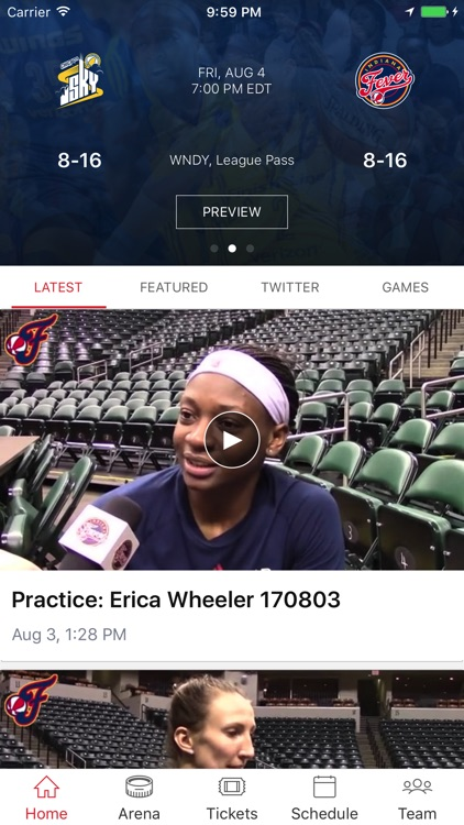 Indiana Fever screenshot-0