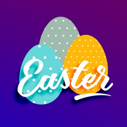 Happy Easter Egg Hunt Sticker
