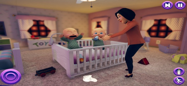 Em bé sơ sinh sinh đôi- Mẹ