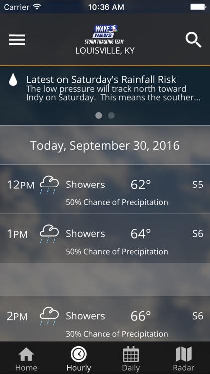 WAVE 3 Louisville Weather screenshot-4