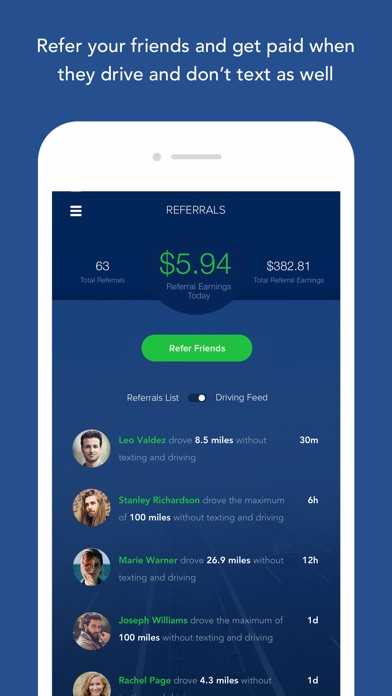 OnMyWay: Drive Safe, Get Paid screenshot 3