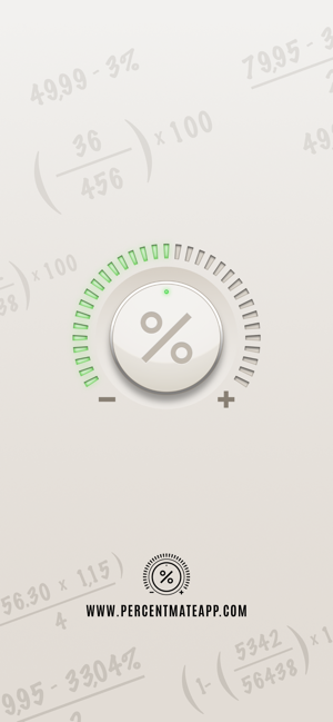 ‎Percent Mate Prozentrechnung Screenshot