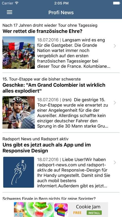 Radsport News