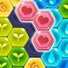 ブロックヘキサパズル:マイフラワー - iPadアプリ