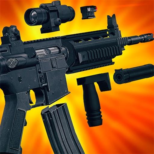 Idle Gun Tycoon : Gun Builder