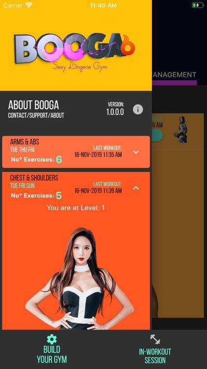 Booga Sexy Lingerie Gym Free screenshot-9