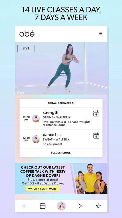 obé Fitness: Live & On-Demand screenshot-0