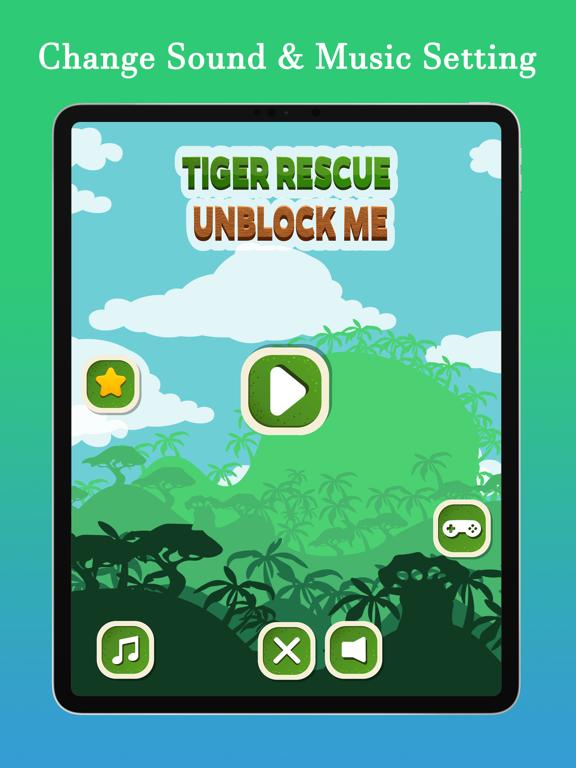 Unblock Me - Tiger Rescue screenshot